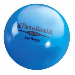 Mała piłka lekarska Thera-Band Soft Weight 2,5 kg (niebieska)