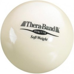 Mała piłka lekarska Thera-Band Soft Weight 0,5 kg
