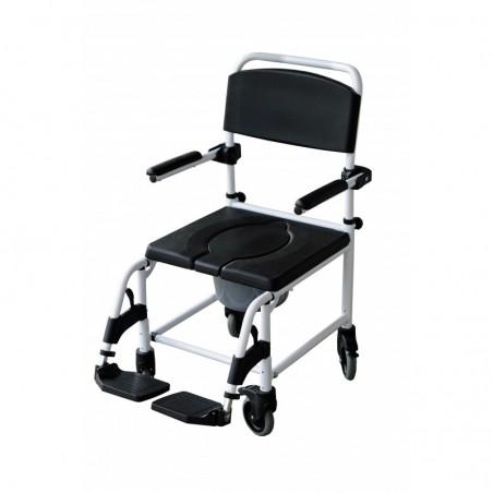 Łazienkowy wózek inwalidzki- małe koła