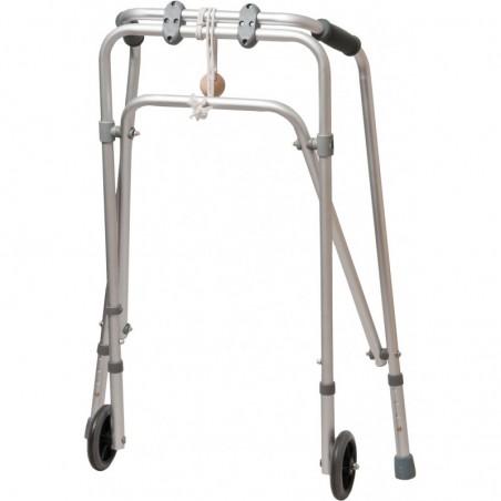 Balkonik inwalidzki dwukołowy z kulką
